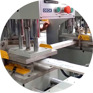 Can I see the working video of your upvc window machine?