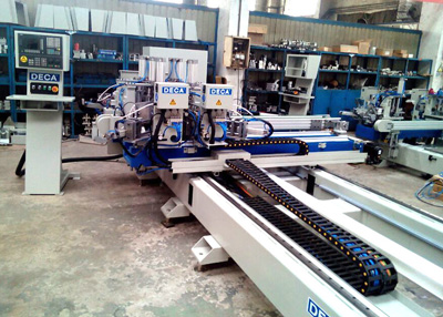Russia Customer Ordered Automatic CNC Four Head Welding Machine