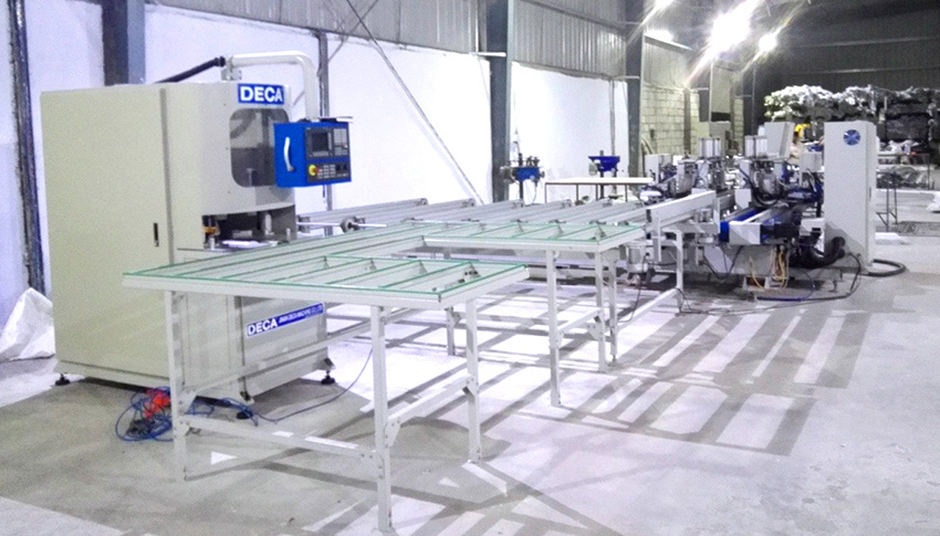 Automatic Welding- Cleaning Production Line