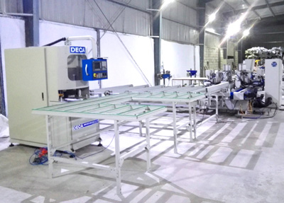 Indian Customer Built Automatic Welding- Cleaning Production Line