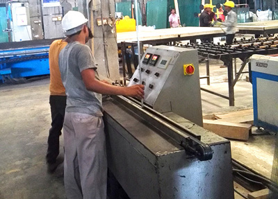 Indian Customer Purchased Wwo Sets of IG Machinery from DECA